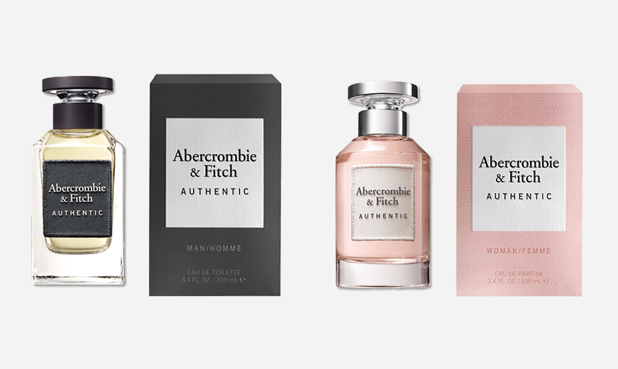abercombie and fitch product designed by mediatropy digital agency