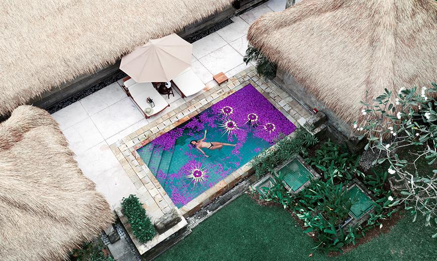 social media content photographed by mediatropy digital agency bali for melia hotel & resorts